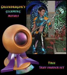 Greendragons gleaming metals by greendragon-gecko