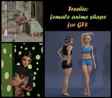 freebie GD anime Elf