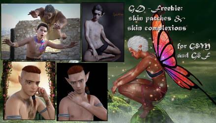 freebie GD G8 skin patches by greendragon-gecko