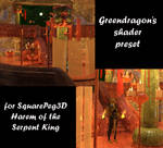 Shader preset for SquarePeg3Ds Serpent King cave by greendragon-gecko