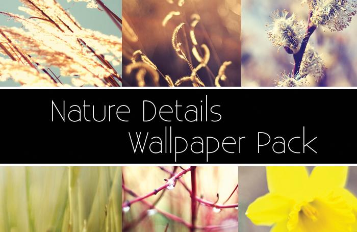 Nature Details Wallpaper Pack
