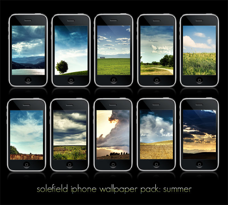 iPhone Wallpaper Pack: Summer by solefield