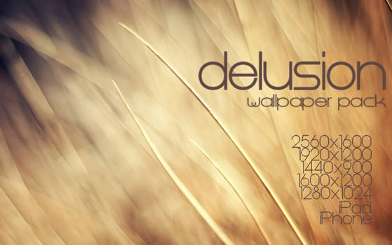 Delusion Wallpaper Pack