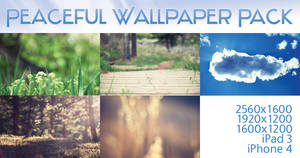 Peaceful Wallpaper Pack by solefield