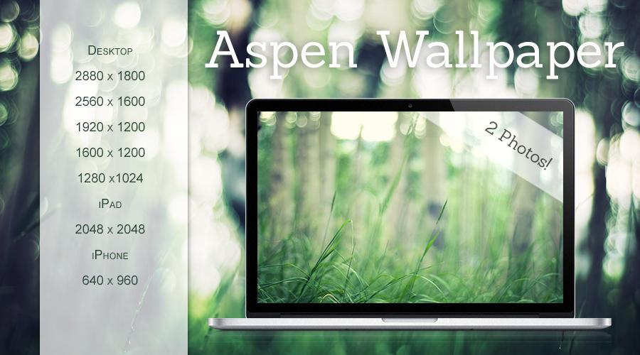 Aspen Wallpaper by solefield