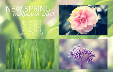 New Spring Wallpaper Pack