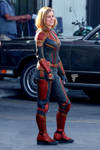 Captain Marvel Recolored