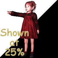 Stock Child 04 by GypsySprite