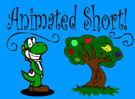 Yoshi and the Fruit Tree by alien-cat