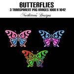 Butterflies by nutkitten