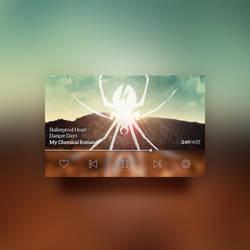 Minion - Minimal Music Player [PSD]
