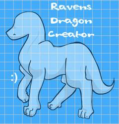 Ravens Dragon Creator by SoulaBlueRose