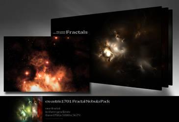 Fractal Nebula Pack 01 by ex-astris1701