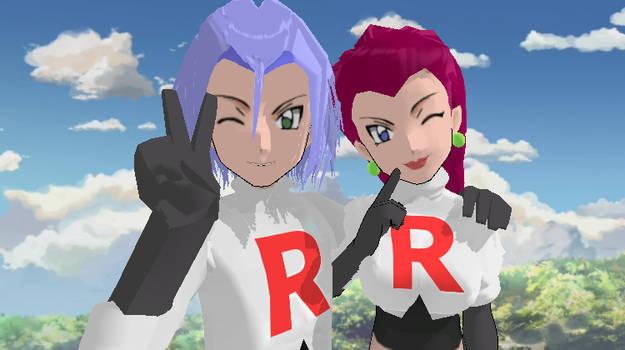 MMD Team Rocket DL