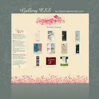 Garden Gallery CSS by blissart