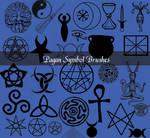Pagan Symbols Brushes