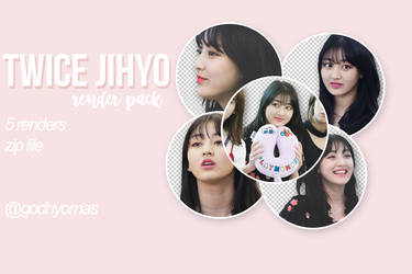 TWICE-JIHYO PNG PACK by godhyomas