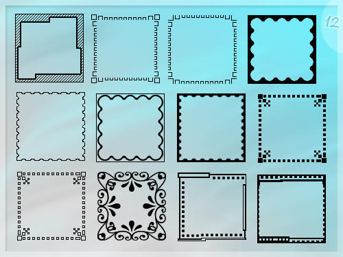 Templates for avatars by Morfuska