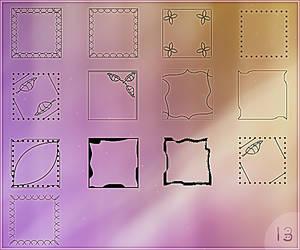 Templates set for avatars