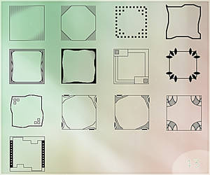 Templates for avatars 100px
