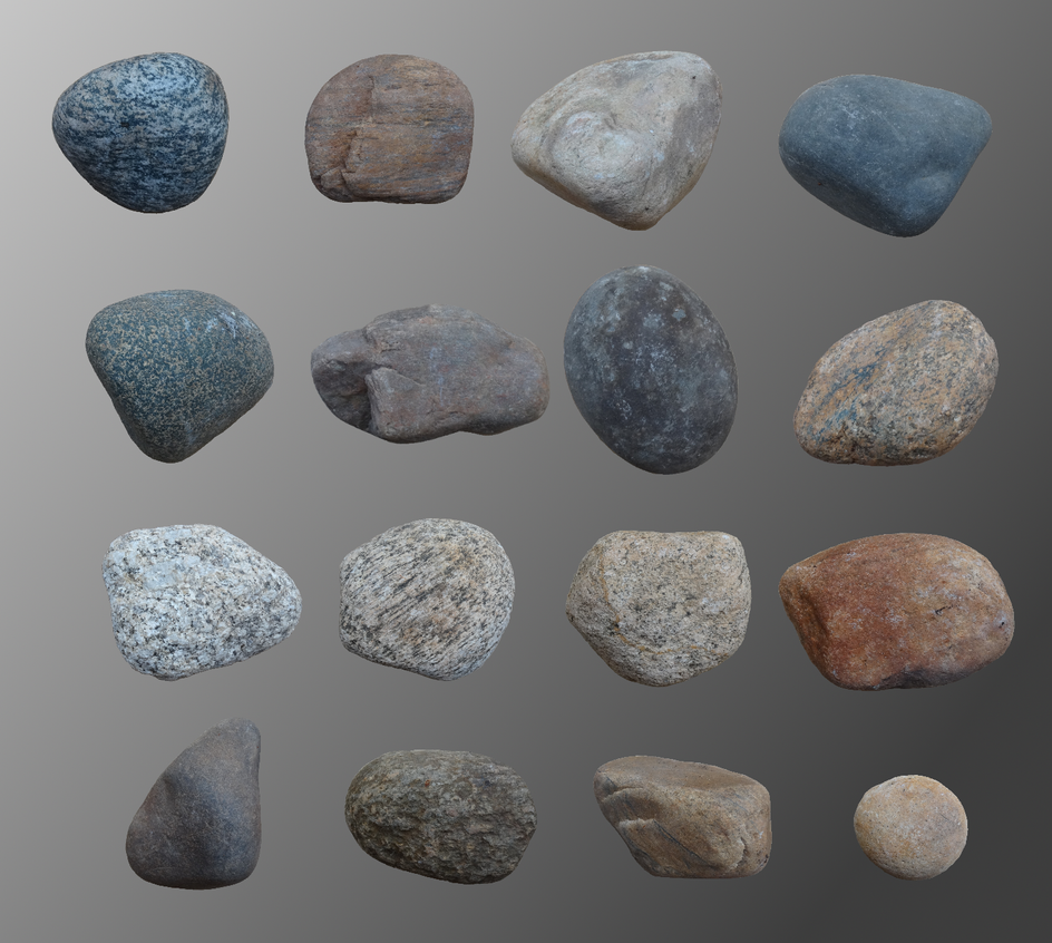 YuriNikolai's HD River Rock Pack by YuriNikolai