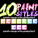 10 Paint Styles For Photoshop