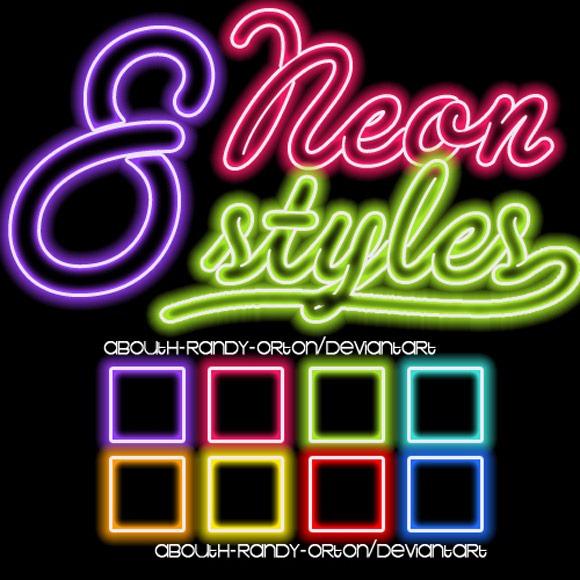 Free Neonsign Psd