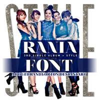 Rania - Font by AbouthRandyOrton