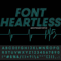 IM5 HEARTLESS FONT by AbouthRandyOrton