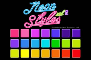 Neon Styles Vol. 2 by AbouthRandyOrton