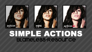 Second Photoshop Action BR by Blameless-Resource