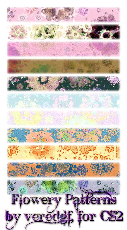 Flowery Patterns for CS2 by veredgf