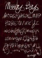 Moody Boys Font by veredgf