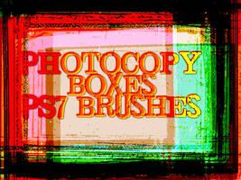 PS7 Photocopy Borders by veredgf