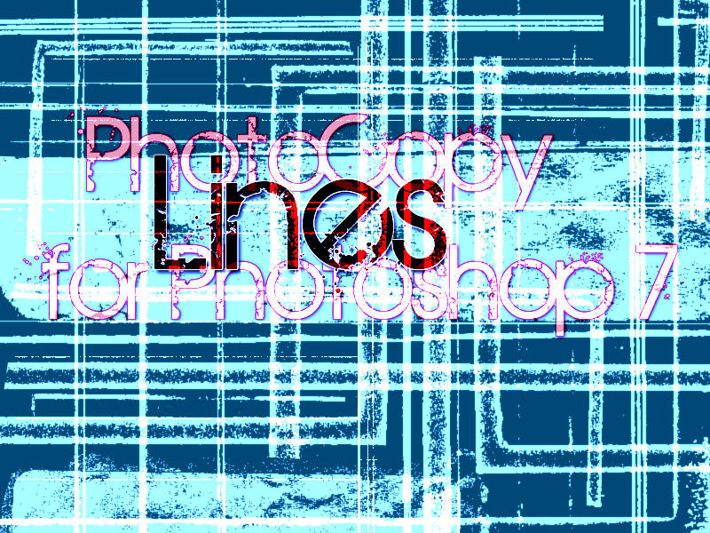 PS7 Photocopy Lines by veredgf