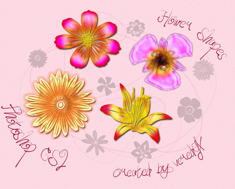 Flower custom shapes for CS2