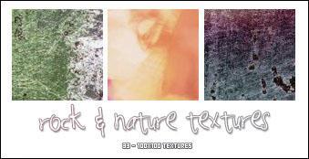 100x100 Rock + Nature Textures