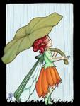 Fairy In the Rain by Hannzopie
