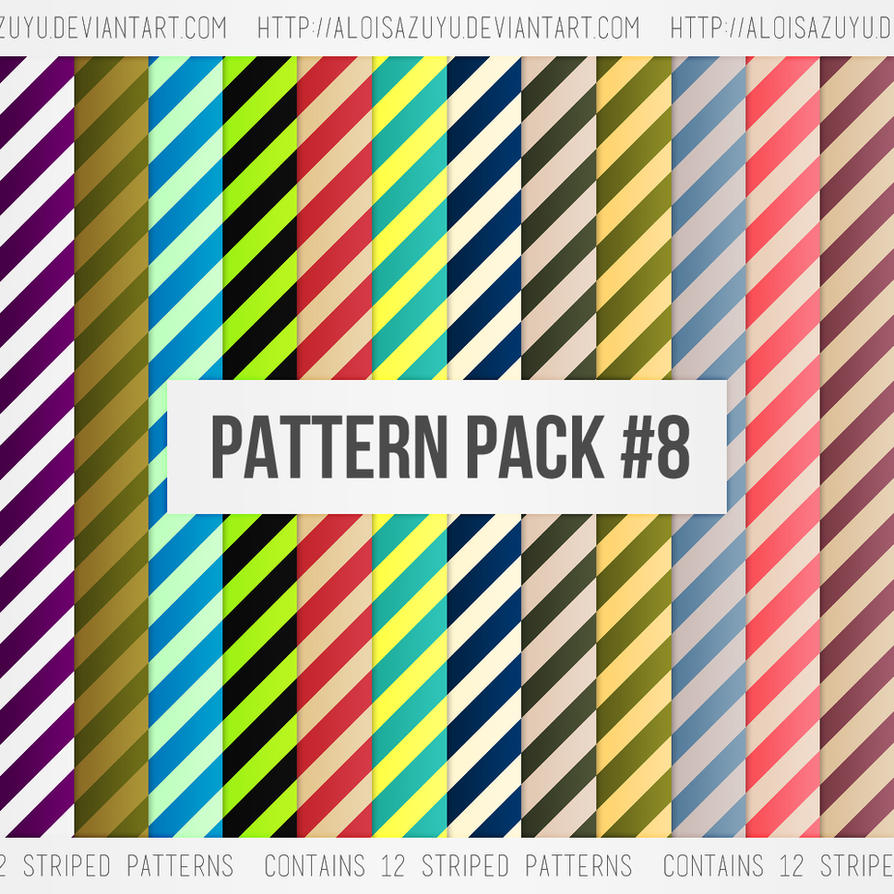 Pattern Pack #8 by aloisazuyu