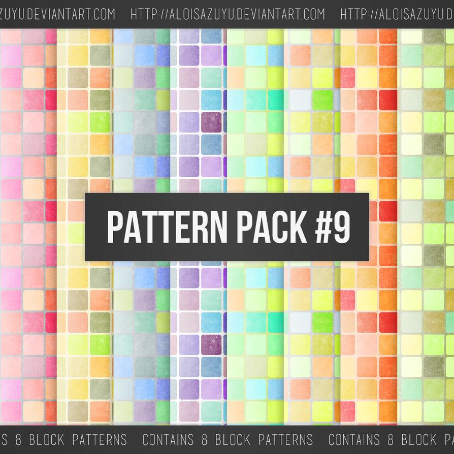 Pattern Pack #9 by aloisazuyu