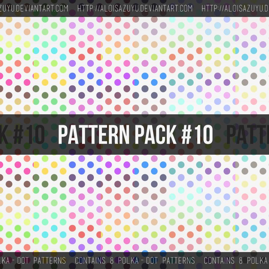 Pattern Pack #10 by aloisazuyu