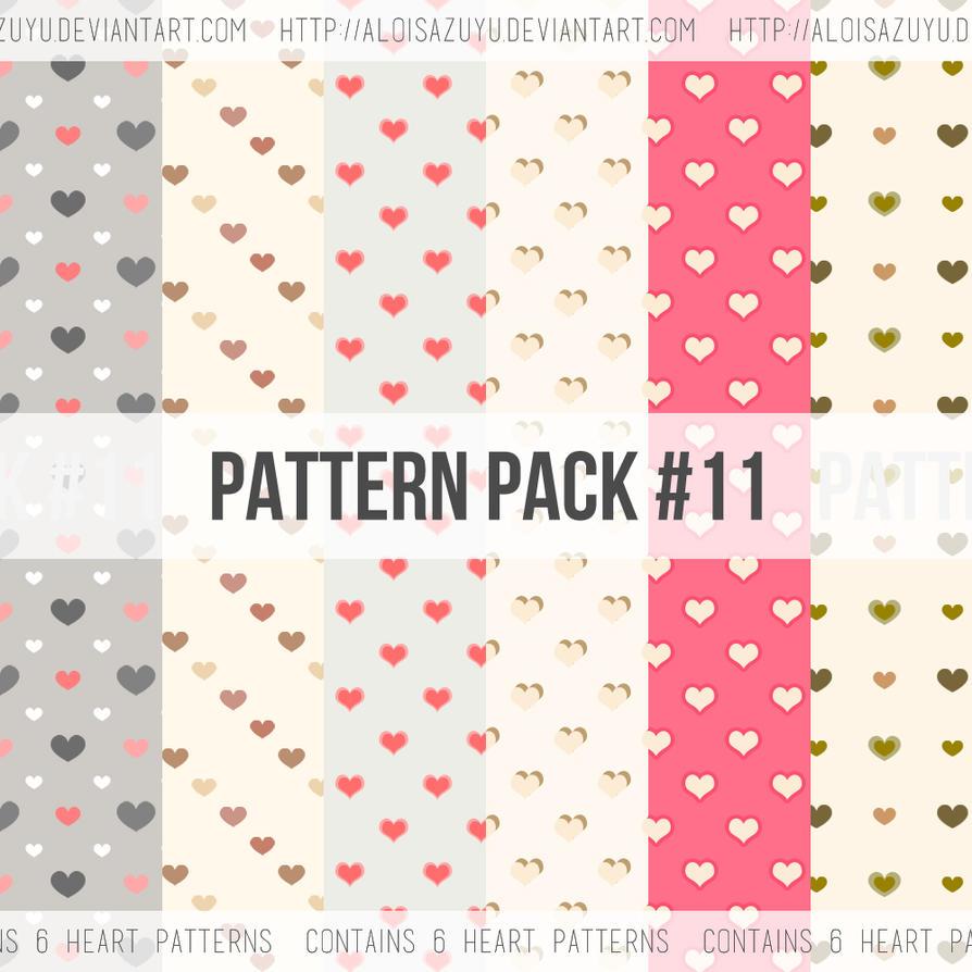 Pattern Pack #11 by aloisazuyu
