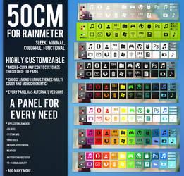 50CM for Rainmeter