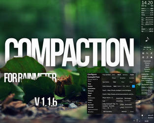CompACTion for Rainmeter v.1.1.6 by Dariosuper
