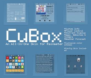 Cubox for Rainmeter by Dariosuper