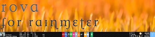 Rova for Rainmeter - DROPPED PROJECT by Dariosuper