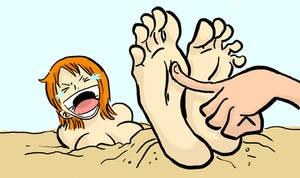 Nami Tickle Animation