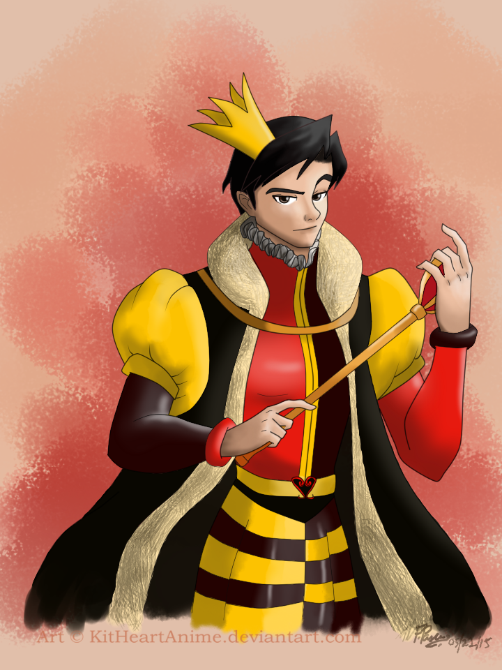 Male!Queen of Hearts/Reader - Painted Hearts (1/2) by