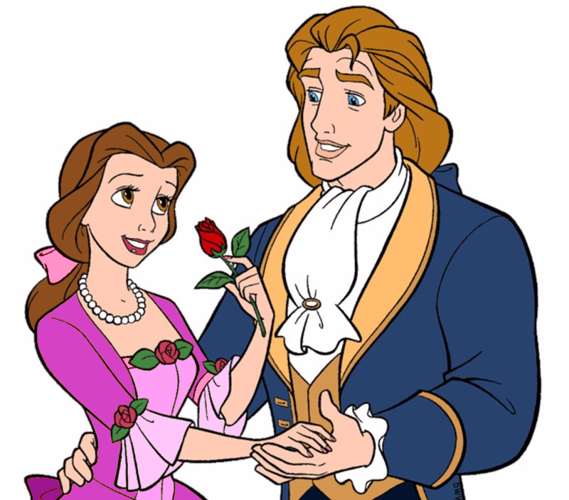Princess Belle And Prince Adam Beauty And The Beast Gohana: Belle And Prince Adam By Unicornsmile On DeviantArt