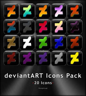 deviantART Icons Pack